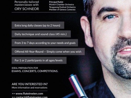 FLUTEinWIEN - Your Private Masterclass in Vienna